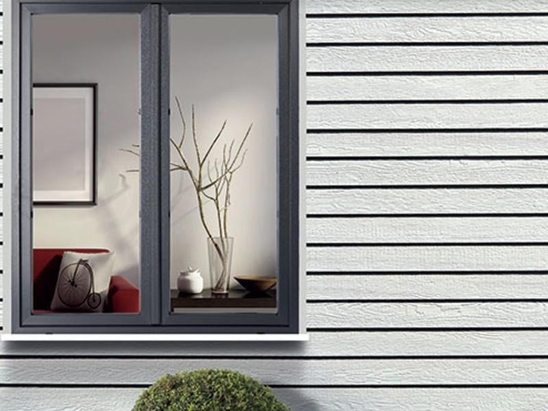 Fenêtre PVC Ambre contemporaine