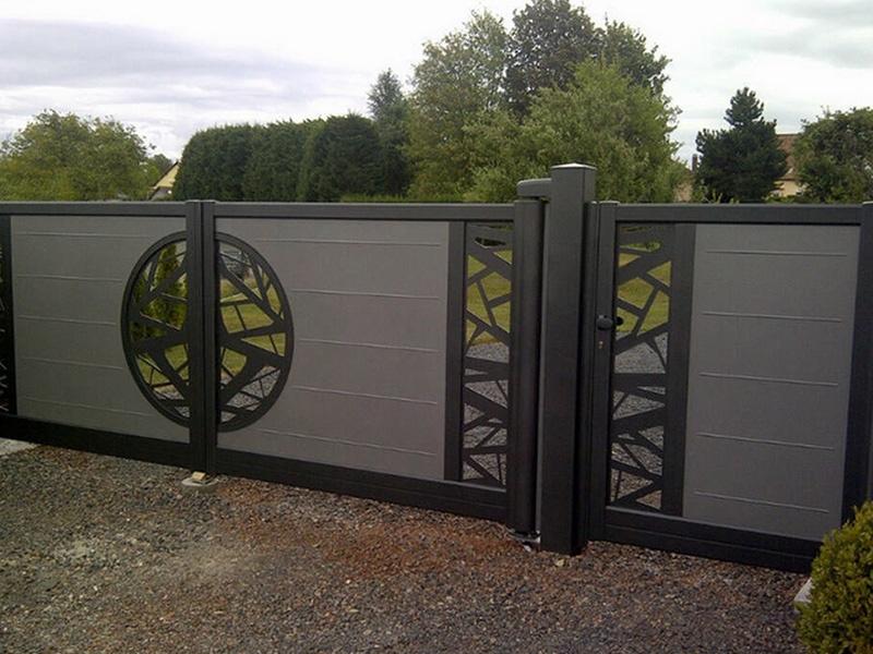 Portails aluminum